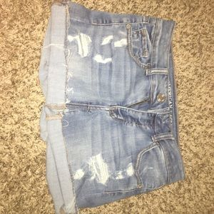 Midi Blue Jean shorts from American Eagle